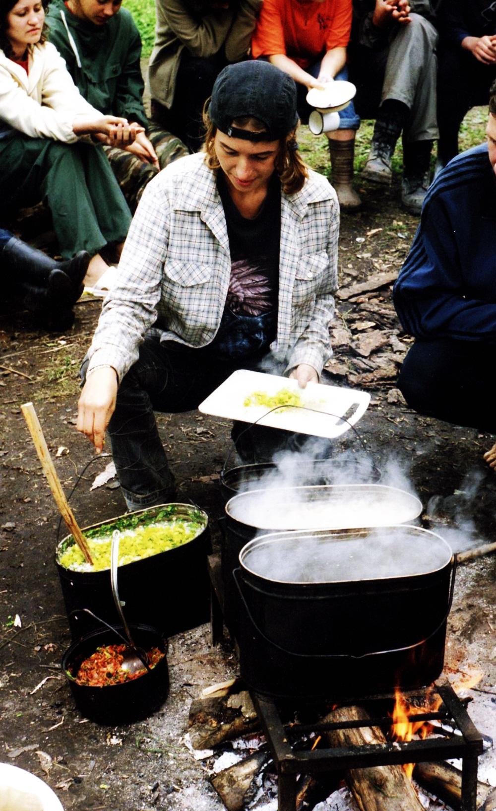 Вы находитесь здесь: Приготовление походной пищи